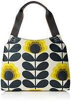 Orla Kiely Summer Flower Stem Classic Zip Shoulder Bag