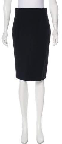 Alexander McQueen Pencil Knee-Length Skirt