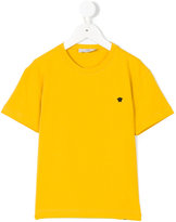 Young Versace Medusa logo appliqué T-shirt
