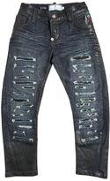 Destroyed Stretch Denim Jeans