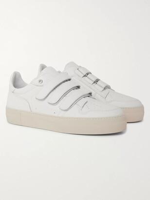 Ami Full-Grain Leather Sneakers