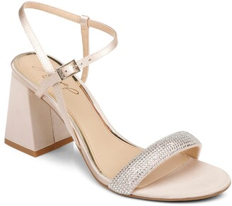 Badgley Mischka Earlene Block Heel Sandal