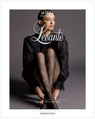 Levante Maela Sheer Lace Tight LEMAETI Black