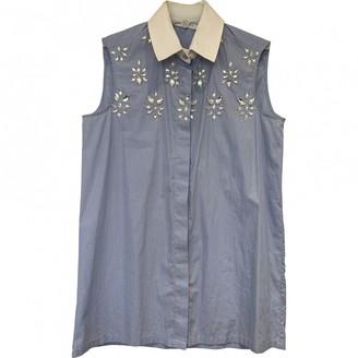 Altuzarra Blue Cotton Top for Women