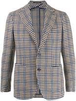 Tagliatore woven single breasted blazer