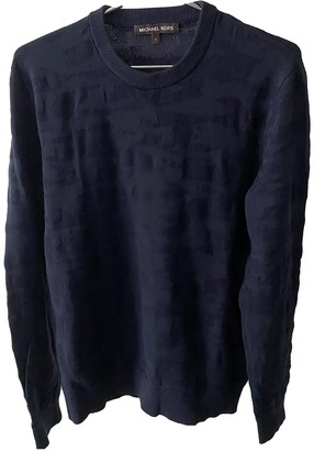 Michael Kors Navy Polyester Knitwear & Sweatshirts