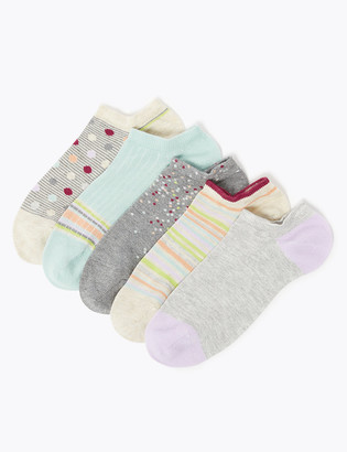 Marks and Spencer 5 Pack Sumptuously Soft Trainer Socks