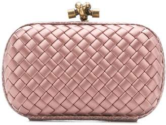 Bottega Veneta intrecciato weave mini clutch