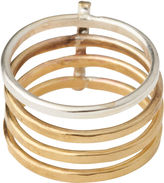 Whistles Made Contrast Bar Ring