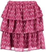 Gap TIERED Mini skirt black