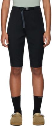 John Elliott Black Bermuda Shorts
