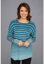 Calvin Klein Jeans Drop Shoulder Mini Stripe L/S Tee