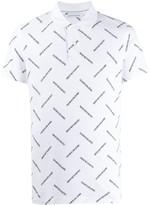 Calvin Klein Jeans all-over logo polo shirt