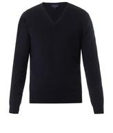 Lanvin V-neck Cashmere-knit Sweater