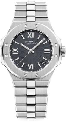 Chopard Alpine Eagle Stainless Steel & Grey-Dial Bracelet Watch