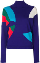 DELPOZO knitted shape sweater