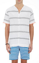 Lemlem Men's Striped Gauze Tunic