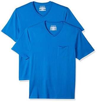 Amazon Essentials 2-pack Regular-fit V-neck Pocket T-shirt(EU L)
