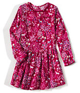 Classic Girls Plus Holiday Flannel Leggings Top-Deep Scarlet/Gold Glitter Dot