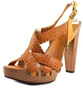 Stephane Kelian Ulysse Open Toe Leather Sandals.