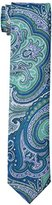 Tommy Hilfiger Men's Chambray Paisley Slim Tie