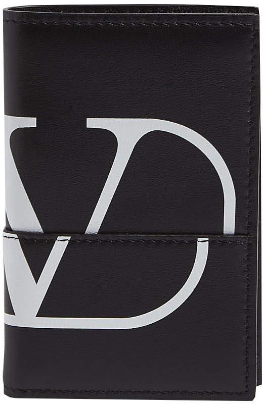 Valentino Garavani logo card holder case