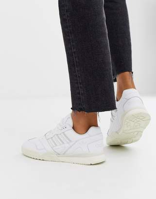 adidas white A-R trainers