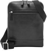 Fossil Men's 'Rory' Leather Crossbody Bag - Black