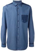 Diesel tonal stripe shirt - men - Cotton - S