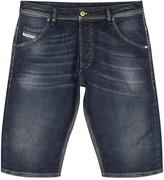 Diesel Indigo Faded Denim Shorts