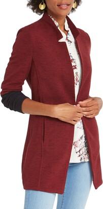 Nic+Zoe Color Block Me Knit Jacket