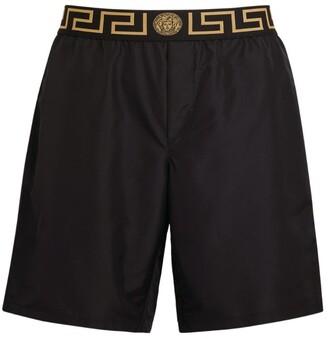 Versace Greca Waistband Swim Shorts