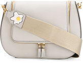 Anya Hindmarch tassel crossbody bag - women - Calf Leather - One Size