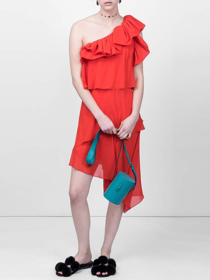 Givenchy Red one-shoulder dress