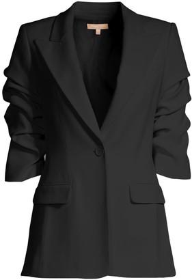 Michael Kors Crushed Sleeve Blazer