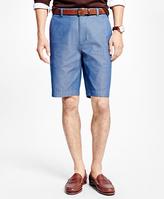 "Brooks Brothers Herringbone 11"" Bermuda Shorts"