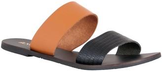 NOMAD Leather Slide Sandals - Noosa