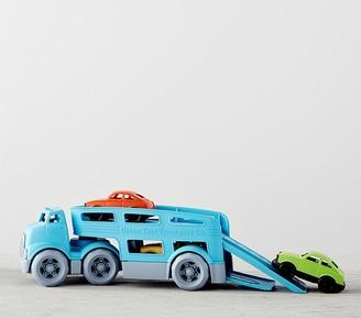 Pottery Barn Kids Green Toys Car Carrier Trailer