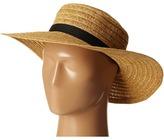 San Diego Hat Company UBL6474 Ultrabraid Sunbrim w/ Ribbon Bow Caps
