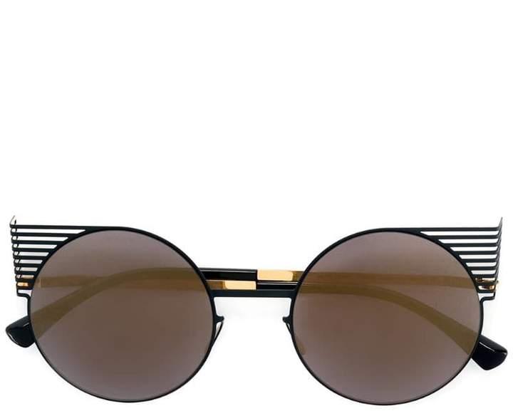 Mykita round shaped sunglasses