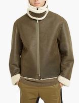 Yeezy Green Shearling Jacket