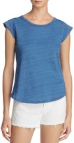 Soft Joie Dillon Cap-Sleeve Cotton Top