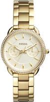 Fossil Women's Tailor Gold-Tone Stainless Steel Bracelet Watch 35mm