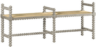 William Yeoward Bellingham Double Bench - Country White