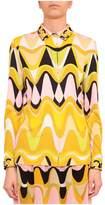Emilio Pucci Le Blond Printed Silk Shirt