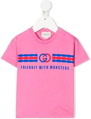 Gucci Kids graphic print T-shirt