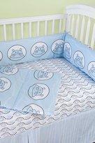Modern Basics - Boo Hippo Crib Bedding Set