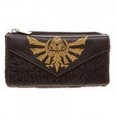 Bioworld Nintendo The Legend of Zelda Triforce Front Flap Womens Wallet