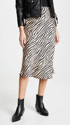 re:named apparel re:named Jully Tiger Midi Skirt