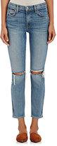 GRLFRND Women's Naomi Distressed Crop Jeans